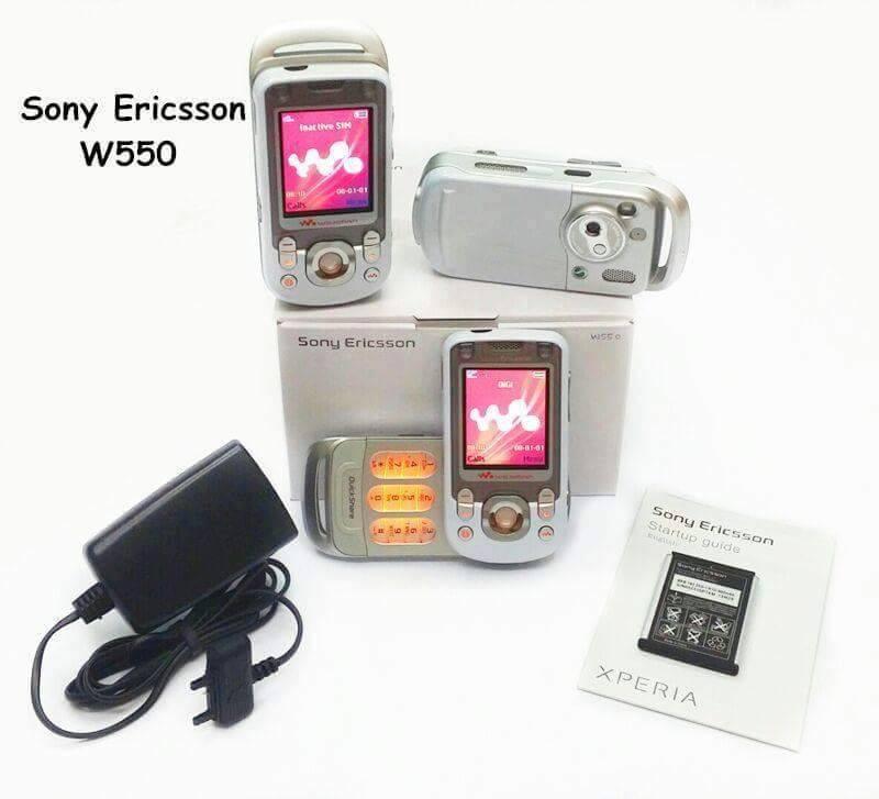 sony erricson w550